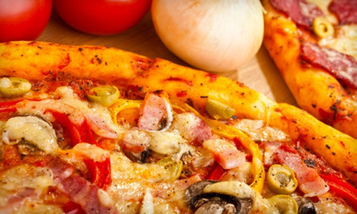 Gatti's Pizza - Multiple Locations: $11 for  One Large Pizza, Cheese Sticks, and Cinnamon Sticks from Gatti's Pizza (Up to $23.07 Value). Two locations Available.