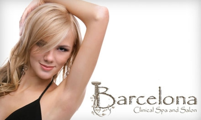 Barcelona Clinical Spa and Salon - Fort Collins: $149 for Three Laser Hair-Removal Treatments at Barcelona Clinical Spa and Salon ($337.50 Value)