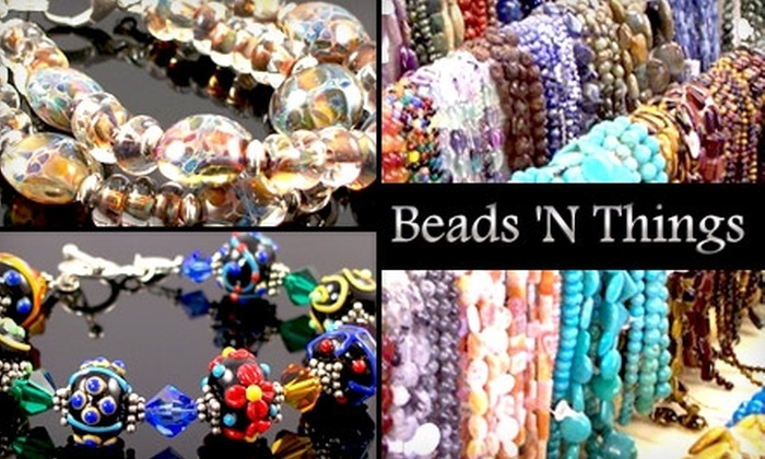 Beads 'N Things - Pittsford: $15 for $30 Worth of Beads and Jewelry at Beads 'N Things in Pittsford