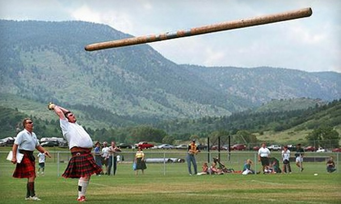 Sherwood Forest Celtic Festival and Highland Games - McDade: Two- or Four-Person Outing to the Sherwood Forest Celtic Festival and Highland Games at the Sherwood Forest (Up to $60 Value)