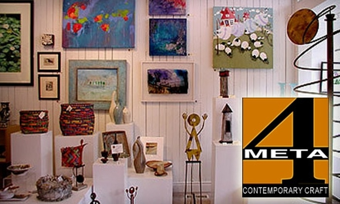 META4 Contemporary Craft Gallery - Port Perry : $25 for $50 Worth of Home Décor, Jewellery, and Accessories at Meta4 Contemporary Craft Gallery in Port Perry