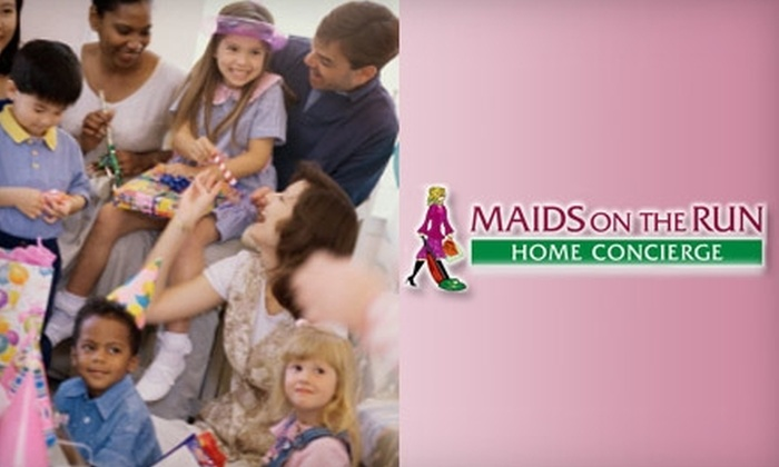 Maids On The Run - Jacksonville: $60 for a Mini Party Package from Maids On The Run