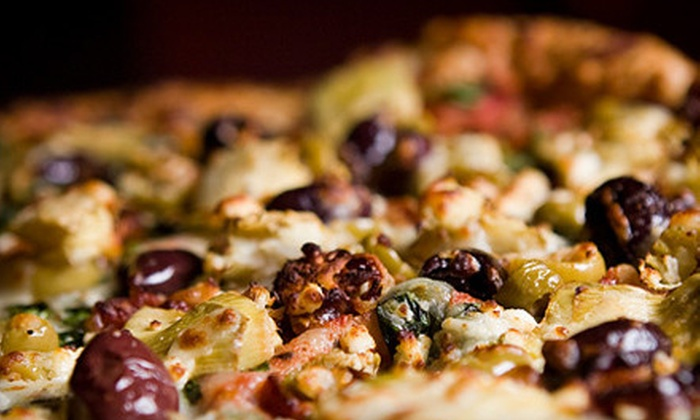 Mangieri's Pizza Café - Multiple Locations: $8 for $16 Worth of Pizza and Italian Fare at Mangieri's Pizza Café
