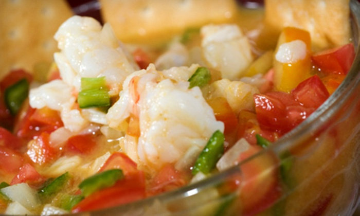 Cebiche - Highland: Meal for Two with Appetizer, Entrees, and Dessert or $15 for $30 Worth of Peruvian Fare at Cebiche