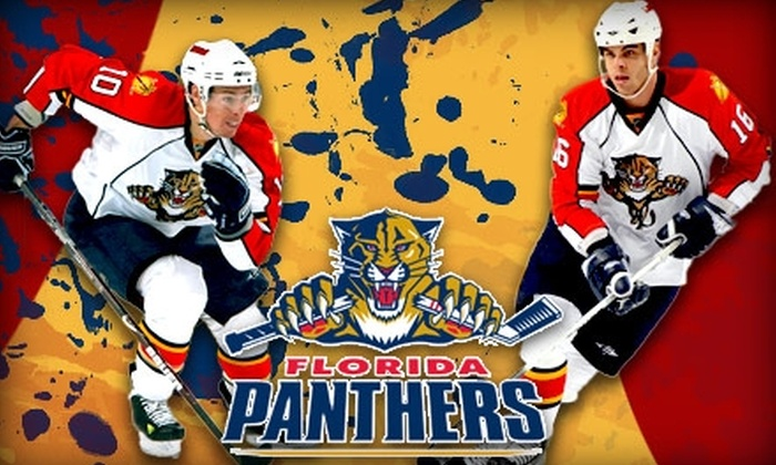 Florida Panthers - Sawgrass Preserve: $45 for a Lexus Club–Level Ticket to the Florida Panthers. Buy Here for Wednesday, March 3, 2010, at 7:30 p.m. vs. the Philadelphia Flyers. See Below for Saturday, March 20, 2010, at 7 p.m. vs. the Buffalo Sabres.
