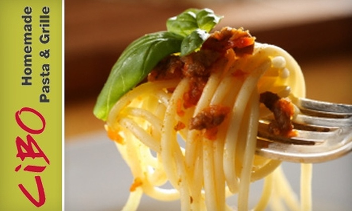 Cibo Homemade Pasta & Grille - Bainbridge: $5 for $10 Worth of Fresh Pastas and Drinks at Cibo Homemade Pasta & Grille