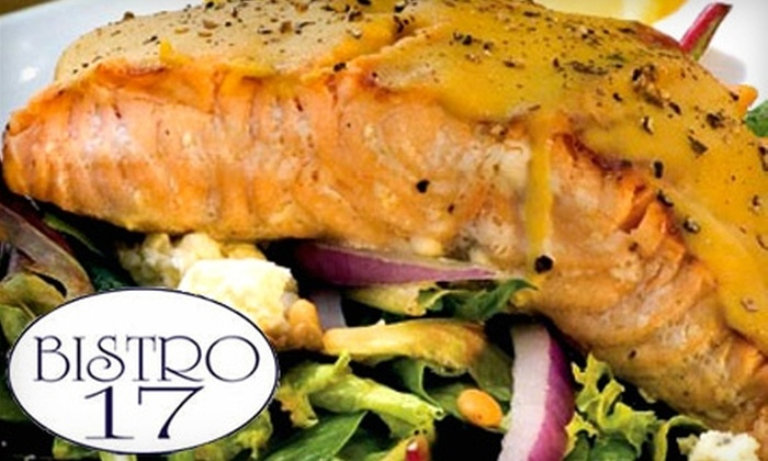Bistro 17 - Hilton Head Island: $15 for $30 Toward French-Inspired Lunch or $5 for $10 Toward Breakfast at Bistro 17