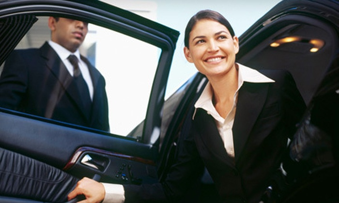 Triple Diamond Limo - North Jersey: Newark Liberty International Airport Car Service from Triple Diamond Limo (Up to 57% Off). Four Options Available.
