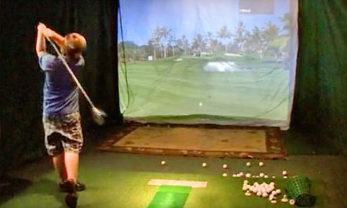 Mattiace Golf - Jacksonville Beach: Half-Hour Golf Simulator Lesson for One or Two at Mattiace Golf in Jacksonville Beach