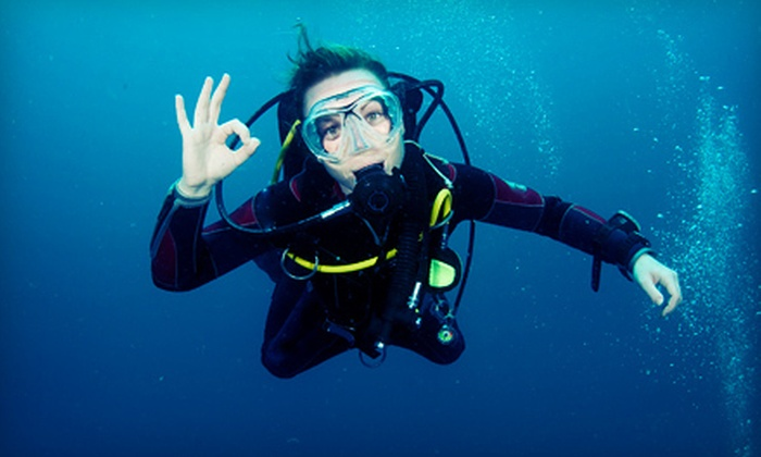 Scubadelphia - Multiple Locations: Discover Scuba or Refresher Class for One or Two at Scubadelphia (Up to 58% Off)