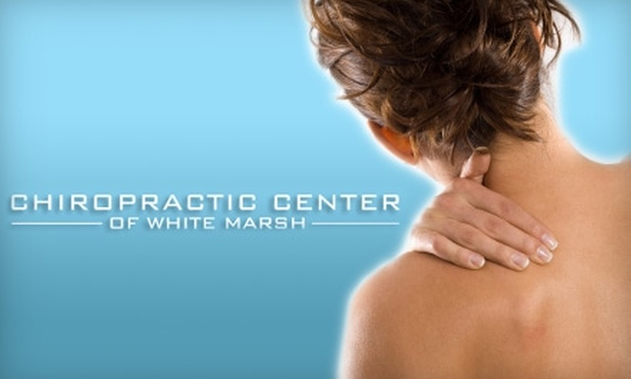 Chiropractic Center of White Marsh - Rossville: $15 for a Chiropractic Health Consultation, Exam, and X-Ray at Chiropractic Center of White Marsh