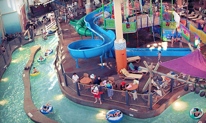 CoCo Key Water Resort - Rockford: $25 for an Indoor-Water-Park Outing for Two at CoCo Key Water Resort (Up to $50 Value)