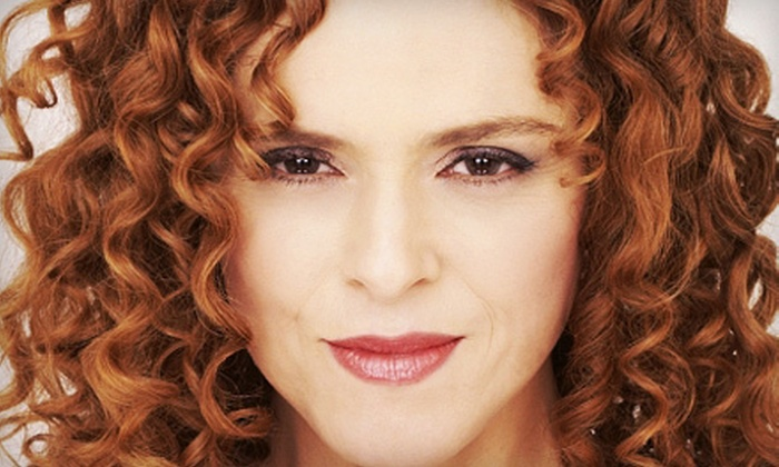 """""""An Evening with Bernadette Peters"""" - Jorgensen Center for the Performing Arts: $38 for """"An Evening with Bernadette Peters"""" for Two in Storrs on April 13 or 14 (Up to $76 Value)"""