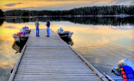 Rough Rock Lodge: 4-Day, 5-Night Fishing Trip for 1 - Rough Rock Lodge in