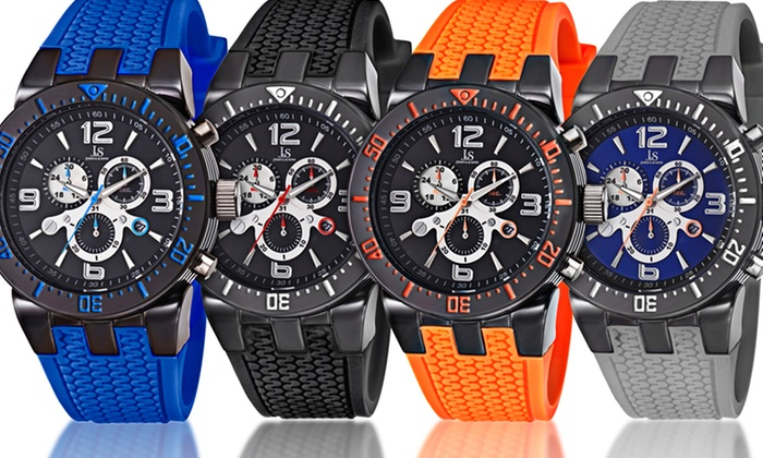 Joshua & Sons Multifunction Watches: Joshua & Sons Men's Multifunction Watches. Multiple Styles Available. Free Shipping and Returns.