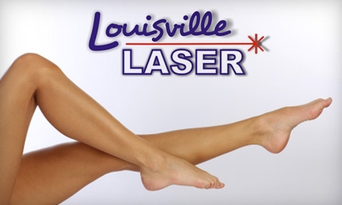 Louisville Laser  - Hurstbourne Acres: $125 for Four Laser Hair-Removal Treatments at Louisville Laser (Up to $916 Value)