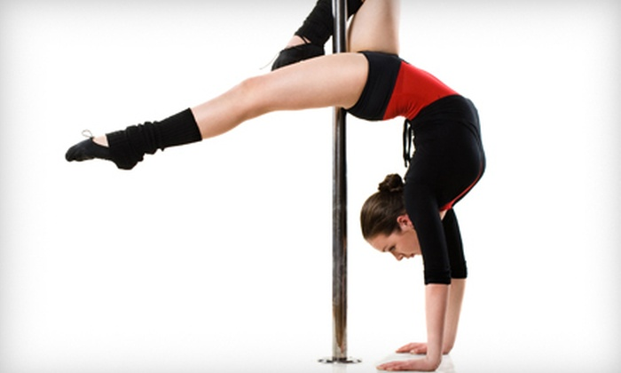 Secrets in a Bottle - Southbelt/ Ellington: One Introductory Pole-Dancing Class or 5 or 10 Cardio Classes at Secrets in a Bottle (Up to 61% Off)