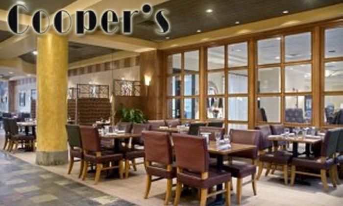 Cooper's Restaurant - Alcoa: $15 for $30 Worth of Elegant Eats and Drinks at Cooper's Restaurant