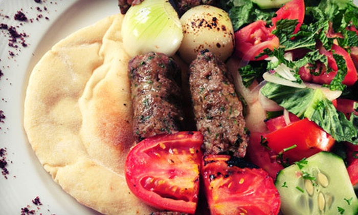 Kamal's Kafe - Jefferson - Tiger Bend: Lebanese Fare for Dinner or Lunch at Kamal's Kafe in Gonzales (Half Off)