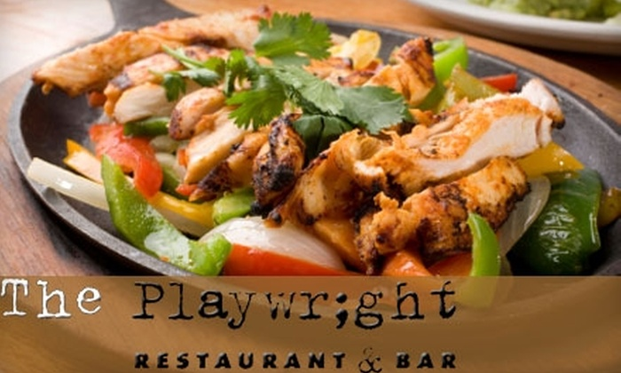 The Playwright Bar & Cafe - South Boston: $15 for $30 Worth of Sports Bar Fare at The Playwright Bar & Cafe