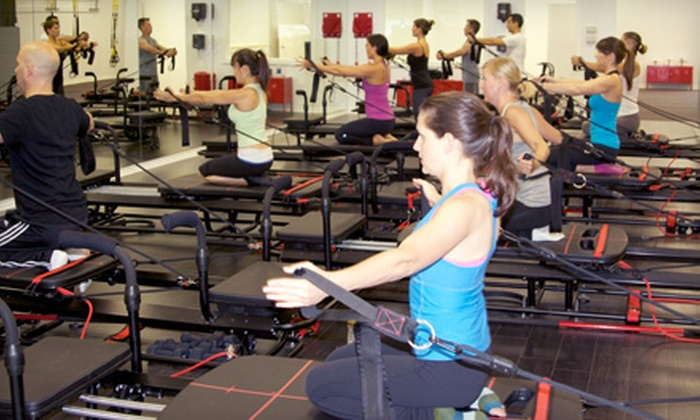 Fitness Movement - Westlake Village: $32 for Four Pilates Plus or Combo Classes at Fitness Movement ($140 Value)