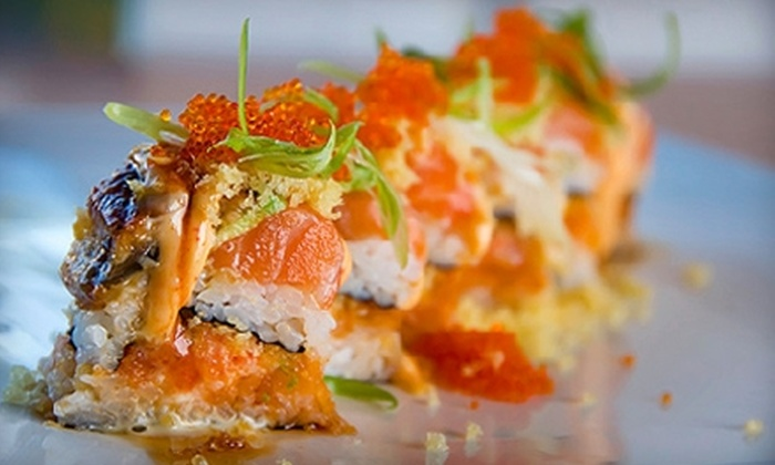 Hayashi Sushi Bar and Grill - Cedar Park: $19 for $40 Worth of Asian-Fusion Cuisine and Drinks at Hayashi Sushi Bar and Grill in Cedar Park