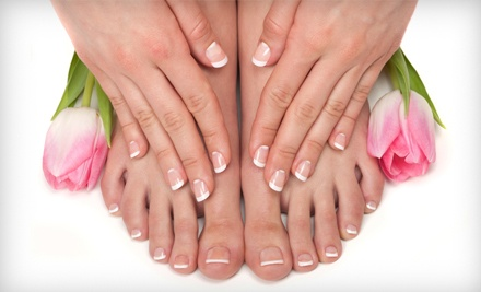 Manicure (a $12 value) and Signature Pedicure (a $45 value; a $57 total value) - Jade Nails & Massage Spa in Allentown