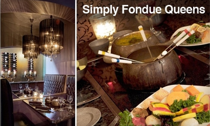 Simply Fondue - Glendale: $25 for $50 Worth of Dippables, Entrees, and Drinks at Simply Fondue