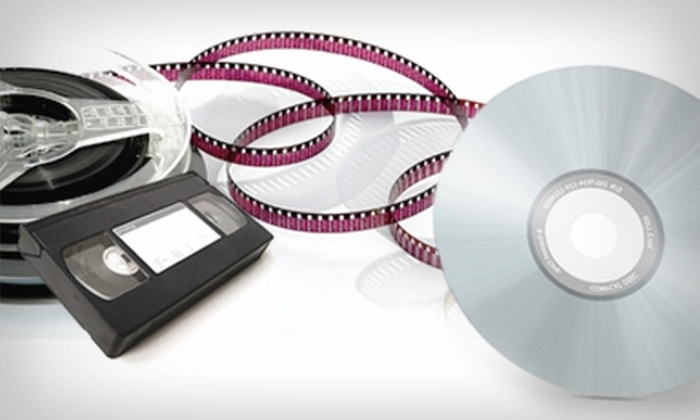 Expert Video Services - University Place: $14 for 120-Minute Tape-to-DVD Conversion at Expert Video Services ($29.95 Value)
