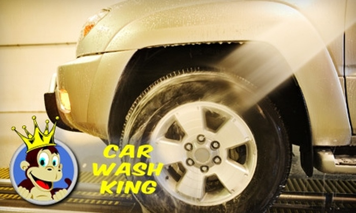 Car Wash King Indianapolis - Noblesville: $15 for Five Express Car Washes at Car Wash King in Noblesville ($35 Value)
