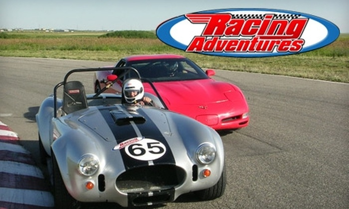 Racing Adventures - Hitchcock: $49 for a Five-Lap Ride Along with Racing Adventures ($99 Value)
