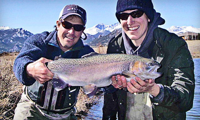 Kirk's Fly Shop - Estes Park: $75 for Four-Hour Guided Fly-Fishing Trip from Kirk's Fly Shop (Up to $150 Value)
