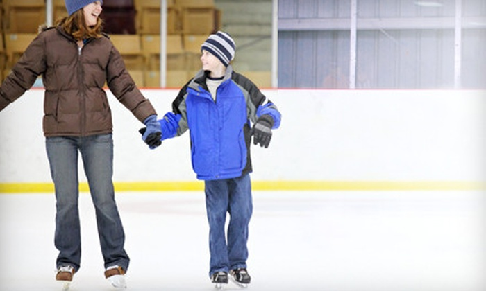 Ice at The Parks - The Parks At Arlington: Two, Four, or Ten Ice-Skating Outings with Skate Rentals at Ice at The Parks in Arlington (Up to 55% Off)