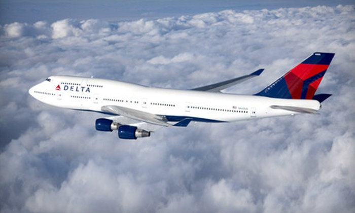 Jet Set Adventure from Delta Air Lines, Air France, KLM, and Alitalia - Billings: International Jet Set Adventure in Business Class or Economy Class from Delta Air Lines, Air France, KLM, and Alitalia