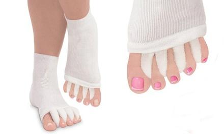 Therapeutic Gel Skin-Moisturizing Recovery Toe Socks