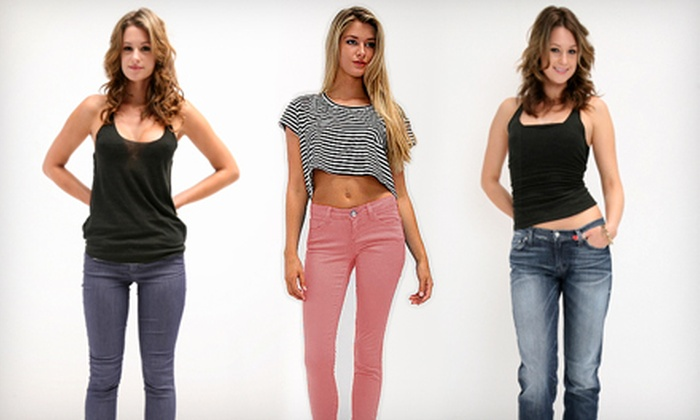Jeans.com: $50 for $125 Worth of Men's and Women's Apparel from Jeans.com