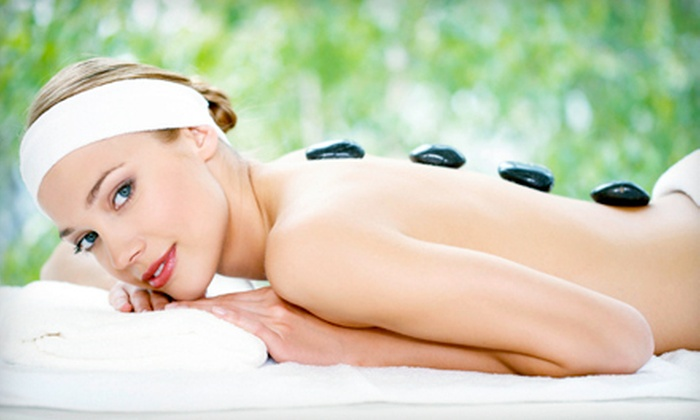 Solaris Spa, Laser & Wellness - Abbotsford: One-Hour Hot-Stone Massage with or without Collagen Facial at Solaris Spa, Laser & Wellness (Up to 56% Off)