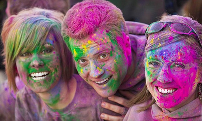 Sparkle Me Wild 5K - Colliseum Central: Registration and Two Color Packets with Option for Video Footage at the Sparkle Me Wild 5K (Up to 53% Off)