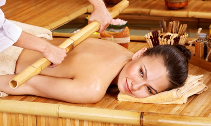 Heaven's Garden Spa - Runnymede - Bloor West Village: 60-Minute Warm Bamboo Massage with Optional Lymphatic Drainage at Heaven's Garden Spa (Up to 58% Off)