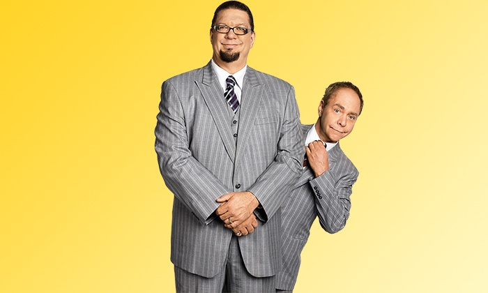 Penn & Teller Live on Broadway - Marquis Theatre: Penn & Teller Live on Broadway at Marquis Theatre, July 7–August 16 (Up to 28% Off)