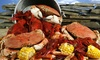 Blue Water Seafood & Crab - Willow Glen: Sea Food at Blue Water Seafood & Crab (Up to 40% Off)