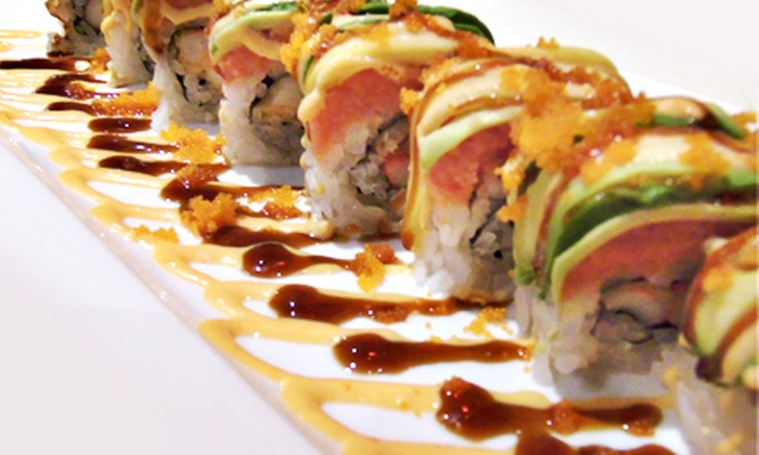 Sushi on the Rocks - Castleton: Sushi and Drinks at Sushi on the Rocks (Half Off). Two Options Available.