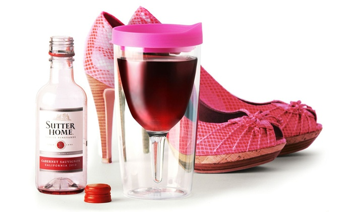 Vino-2-Go Two-Packs: $16.99 for a Vino-2-Go Two-Pack ($25.90 List Price). Multiple Colours Available.