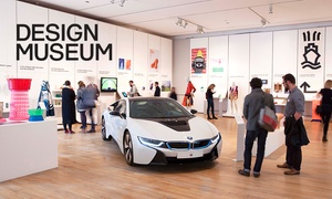 Design Museum: £8 for an Adult Entry to the Design Museum, October 1 - 16 November (Up to 41% Off)