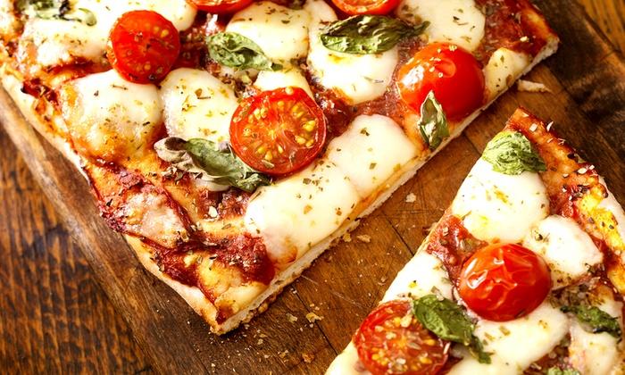 Napolitana Pizzeria - Napolitana Pizzeria: Flatbreads, Sandwiches, and Salads at Napolitana Pizzeria (Up to 50% Off). Two Options Available.