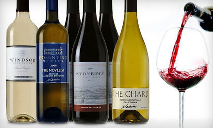 Windsor Vineyards: $49 for Six Bottles of Premium Wine in a Mixed Assortment ($119 List Price)