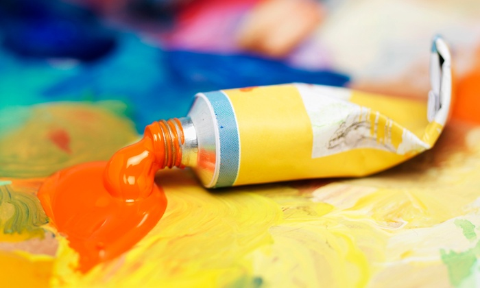 El Arte Uncorked - Monkey Joe's: Kids' Painting Class for One, Two, or Four from El Arte Uncorked (Half Off)