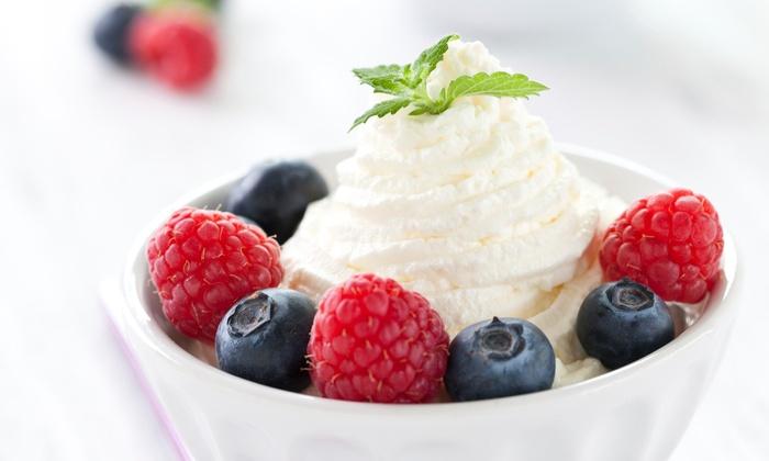 Dollops Frozen Yogurt - Syosset: $7.50 for Three Groupons, Each Good for $5 Worth of Frozen Yogurt at Dollops Frozen Yogurt (a $15 Total Value)