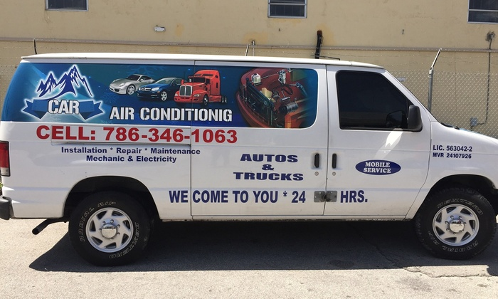 CAR  & TRUCK AIR CONDITIONING - Palm Springs: $63 for $125 Worth of Auto AC Repair — CAR  & TRUCK AIR CONDITIONING