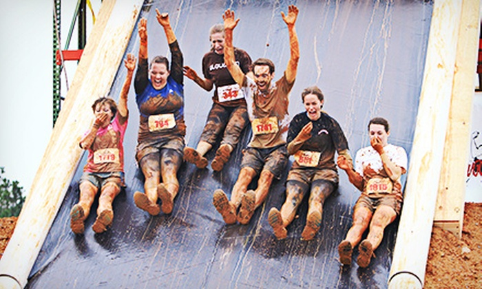 Rugged Maniac 5K Obstacle Race - The Woodlands: $36 for Obstacle Race Entry and T-Shirt at Three Palms Action Sports Park on Saturday, December 14 (Up to $72 Value)